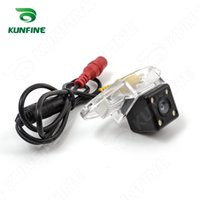 Wholesale Buick Enclaves - CCD Track Car Rear View Camera For Buick Enclave 2010 Parking Assistance Camera with Track line Night Vision LED Light Waterproof KF-V1226L