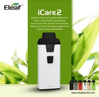 Wholesale Top New Products - Eleaf iCare 2 Kit New Product from Eleaf iCare Series All in One Kit 2ml Capacity with Top Filling and Built-in 650mAh Battery 100%Authentic
