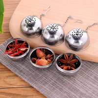 Wholesale Tea Bulk China - Made in China 304 Stainless Steel Tea Ball Infuser, Bulk Price Round Metal Tea Infuser on Promotion