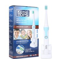 Wholesale Dental Care Toothbrush - Ultrasonic Waterproof IPX7 High Rechargeable Electric Toothbrush Holder with 3 Heads Oral Hygiene Dental Care +B