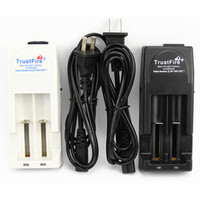 Wholesale Trustfire Chargers - 100% Authentic Trustfire TR001 Battery Charger for 18650 16450 14500 18350 Rechargeable Batteries US UK EU AU PLUG AVIALABLE