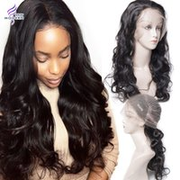 Wholesale Human Hair Wigs Natural Hairline - Brazilian Human Hair Wigs for Black Women Brazilian Body Wave Glueless 360 Lace Frontal Wigs with Baby Hair Natural Hairline Lace Front Wigs