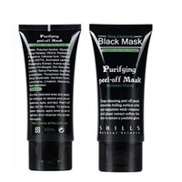 Wholesale Eye Purified - Best Selling SHILLS Deep Cleansing purifying peel off Black mud face mask Remove blackhead face mask 50ml