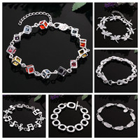 Wholesale Rhinestone Dragonfly Jewelry Sets - Handmade Crystal Bracelets For Women Girls Best Friends Famous Brand Dragonfly Charm Bracelet Flip Flop Jewelry 2016 Pulseras Bijoux