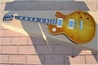 Wholesale Iced Tea 1959 - wholesale 1959 Reissue Guitar Iced Tea Custom electric Guitar EMS free shipping One neck (No Scarf)