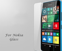 Wholesale microsoft screens - Premium Tempered Glass Screen Protector For Microsoft Nokia Lumia 435 532 Toughened Protective Film With Retail Package