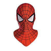 Costume Accessories spiderman costume gloves - Spider Man Mask Accessories spiderman Gloves masks cosplay mascaras halloween party Dark Avengers Carnaval Costume kids adults