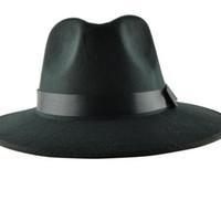 chapeaux britanniques pour les hommes achat en gros de-Gros-YOCCAS le long du chapeau d'hiver Vintage Jazz Cap scène visière hommes britanniques Sombreros Para Hombres noir Fedora chapeaux pour hommes