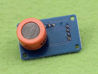 Wholesale Alcohol Gas Sensor - Free Shipping 2pcs MQ-3 Module Alcohol Sensor mq3 Gas Sensor (C6B5)