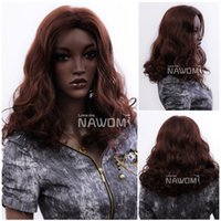 Wholesale Nawomi Wigs - 3432 NAWOMI Synthetic Full Periwigs African Woman Wigs Medium Long Curly Wig Directly From Manufacturer High Grade