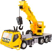 Wholesale Toy Remote Cranes - Wholesale-Kids Toy 7CH Wireless Remote Controlled Chargeable RC Engineering Vehicles RC Crane Truck