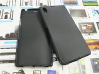 ingrosso silicone caso sony xperia z5-Per Sony Xperia C5 / E5553 M5 / E5603 Z5 Z4 Z3 Z2 Z1 / L39H Z / L36H Custodia in silicone Wave glassato Gel Slim TPU Cover posteriore morbida Custodia protettiva per telefono
