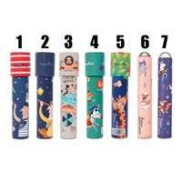 Wholesale Toy Prism Kaleidoscope - 7 Designs Mideer Scientific experiments toy kaleidoscope changed prism Color world of eyes Parent-child interactive educational toys