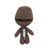 Wholesale Birds Plush Toys - 1pc16CM Little Big Planet Plush Toy Sackboy Cuddly Knitted Stuffed Doll Figure Toys Cute Kids Animal Comfort Doll