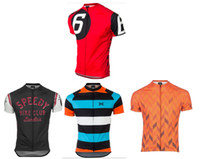 Wholesale Outdoor Short Clothing - 2017 Twin Six Short Sleeve Outdoor Cycling Jersey  Cycling Clothing ciclismo maillot MTB L2