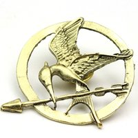 The Hunger Games Broches Inspiré Mockingjay Et Arrow Broches Pin Corsage Promotion! Nouvelle Arrivée Européenne Hot Movie ZD076B