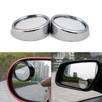 Wholesale Round Convex Mirrors - 360 Degree Wide Angle Round Convex Mirror Car Vehicle Blind Spot Mirror for Car Rear View Mirror Rain Shade Car Accessories
