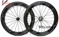 faltrad carbon räder großhandel-20-Zoll-Fahrrad-Rad, Vollcarbon 451 Laufradsatz, 406 Laufradsatz, 50mm Drahtreifen 20-Zoll-Klapprad Rad