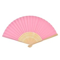 Wholesale Luxurious Paper Fold hand Fan in Elegant Laser Cut Gift Party Favors Wedding Bamboo Fans Gifts