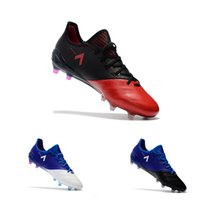 Wholesale Play Boy Men - ACE 17.1 Leather FG Soccer cleats Outdoor Football Boots Big Boy Soccer Game play shoes Lace up size 39-45
