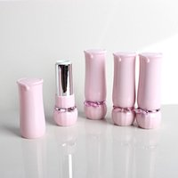 Wholesale Butterfly Mouth - Lipstick Hollow Tube Homemade Big Lipstick High-end Inclined Mouth Pink Butterfly Lip Balm Subpackage fast shipping F20172113