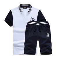 Wholesale Hoodie Tracksuits For Men - Wholesale-Mens tracksuit set jogging suits for men tracksuit men gym-clothing men's sportswear polo men hoodies 810