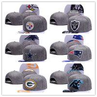 Wholesale New Colorful Snapbacks - Top Quality colorful 2017 New Snapbacks all teams Ball cap adjustable hats basball Adjustable caps football mix order