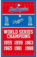 Wholesale Football World Series - Los Angeles Dodgers Flags World Series Champions Baseball Flags LA Dodgera Your Text Different Styles 90*150CM Indoor Outdoor Flag