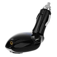 lcd drahtlose fernbedienung großhandel-Drahtloser FM Übermittler-Radio Modulator mit USB 2.0 Hafen TF LCD Fernbedienung 360 Grad-freie Umdrehung Auto MP3-Player