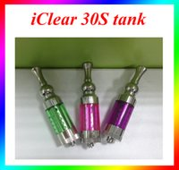 Wholesale Innokin Iclear Replaceable - iClear 30S tank Colorful 3.0ml innokin iclear 30 swivel coil 30s clearomizer for Vision Spinner 2 II 3 III VS ce4 atomizer