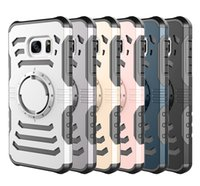 Wholesale Sword Holder - Sharp Sword TPU+PC hybrid Case Sports Running Armband Stand Holder Cover Armor Cases For iPhone X 8 7 6 Plus Samsung S7 Edge S8 Note8
