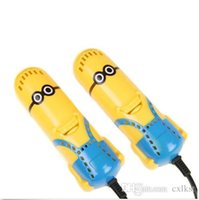 Wholesale Dehumidify Despicable Me Deodorizer Minions Shoes Dryer Electric Sterilizer Brand New Good Quality Brand New