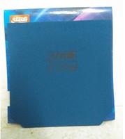 caoutchouc éponge bleu achat en gros de-Livraison gratuite DHS Hurricane 3 (bleu éponge) Tennis de table de ping-pong en caoutchouc en caoutchouc tennis de table lame / Bats / Rackets NOUVEAU top vente
