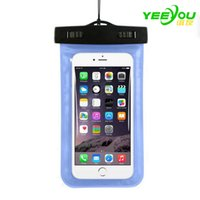 Wholesale Surf Bags - Waterproof case Bag PVC Protective Universal Phone Pouch With Compass For Diving Swimming Boating Surfing For iPhone X 8 plus Samsung S8 S7