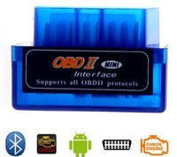 uper Mini ELM327 V1.5 / V2.1 OBDII OBD2 OBD 2 Bluetooth Car Auto Diagnostic Interface Scanner Acessórios 1N67