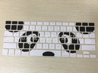Wholesale Computer Keyboard Skin Cover - Multi-colors Letters Silicone printing Flower Keyboard Skin Protector Covers For Macbook Tablet Computer And Waterproof