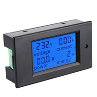 Wholesale AC80 V A Digital LCD Current Voltage Active Power Energy Detection Tester Ammeter Voltmeter Multi functional Meter