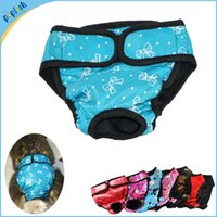Wholesale Supplier Underwear - China Supplier New Design Physiological Pants for Dogs Underwear Small Large Breeds Washable Cover Diaper 8 Colors