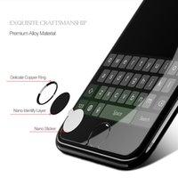 разблокировать iphone s оптовых-Алюминиевая домашняя кнопка защищает наклейку для Touch ID для iPhone 6 6 S 7 Plus 5s iPad Поддержка отпечатков пальцев разблокировать наклейку