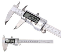 Wholesale Stainless Micrometer - Metal 6-Inch 150mm Stainless Steel Electronic Digital Vernier Caliper Micrometer