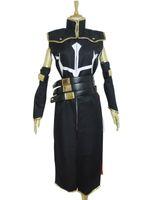 Wholesale custom code geass cosplay online - Code Geass Cosplay Costume R2 C C Floral Leather Uniform