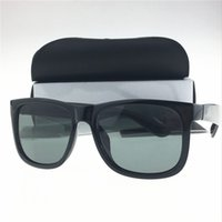 Wholesale Sunglasses Justin - Sexy Fashion High quality women sunglasses brand designer justin sunglass men glasses Goggles Sunglasses with packaging for Driving