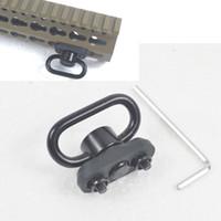 Wholesale push button universal online - CNC Aluminum inch Push button QD sling swivel mount fit universal keymod rail