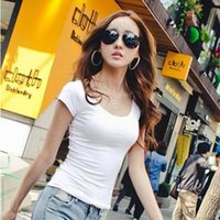 Feitong 2016 t-shirt Donna blusa camisetas mujer Lady Slim Fit cotone Crew collo Manica corta Casual Maglietta felpe T-shirt femme