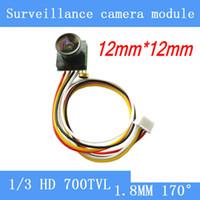 hd kameras miniatur großhandel-Miniatur-Überwachungskamera 5MP HD 700TVL 170-Grad-Weitwinkel-Kamera FPV-Modellflugzeuge, Spielzeug, Home Security Lochkamera
