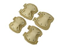 Wholesale Paintball Elbow Pads - Tactical Paintball Protection Knee Pads & Elbow Pads Set Sports Safety Protective Pads Protector Gear Hunting Shooting Pads