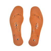 ko groihandel-Magnettherapie Magnet Health Care Fußmassage Einlegesohlen für Männer / Frauen Comfort Pads Fußpflege Massager Männer / Frauen