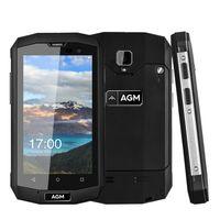 Wholesale Mini A8 Sim Card - AGM A8 Mini IP68 Waterproof 4G FDD-LTE Smartphone 4 Inch Android 5.1 Quad Core 2GB RAM 16GB ROM 8MP NFC OTG 2600mAh