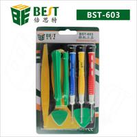 iphone tools am besten großhandel-Woderful Qualität BESTE Reparatur-Werkzeuge BST-603 Telefon-Reparatur-Werkzeuge für iphone 4 / 4S, für iphone 5 / 5S mit freiem Verschiffen