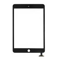 pantalla táctil para ipad al por mayor-Para iPad mini 1 2 3 Ensamblaje del digitalizador de cristal con pantalla táctil con IC con botón de inicio Pegamento adhesivo Etiqueta de repuesto Piezas de reparación mini 5
